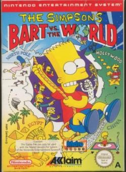 The Simpsons BART Vs WORLD